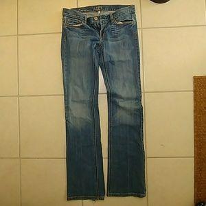 LOFT modern bootcut jeans w/2% spandex